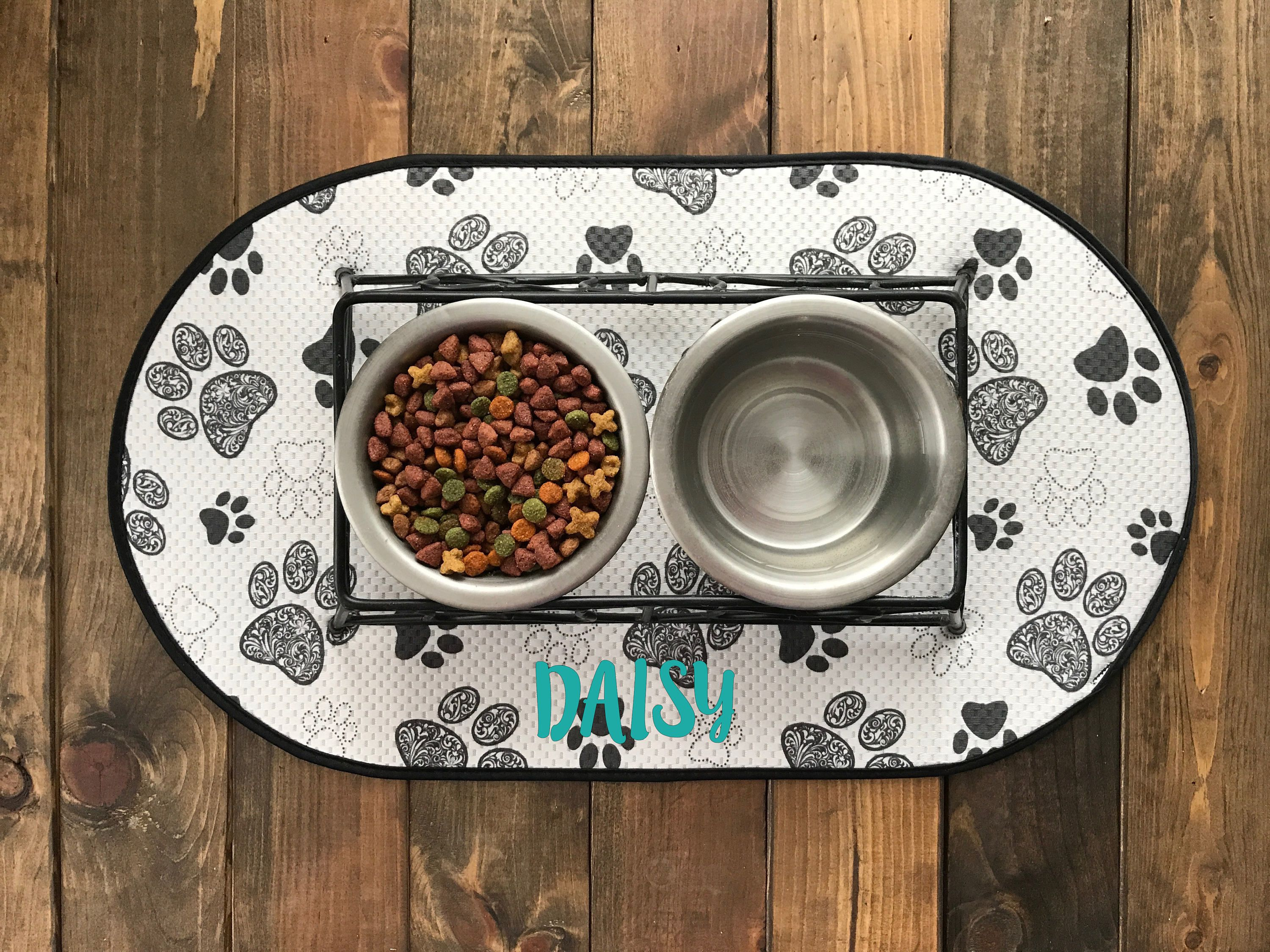tray mat dw dog shape antique carpet cups clean imposing puppy feeding mats to wipe cats water food dogs bowl eva dish placemat cat pet also place showy pvc for