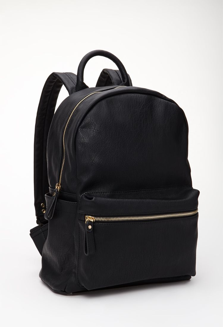 9d17c3b3ae9 Classic Faux Leather Backpack