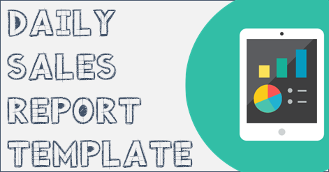 Download Free Daily Sales Report Template  MsExcel
