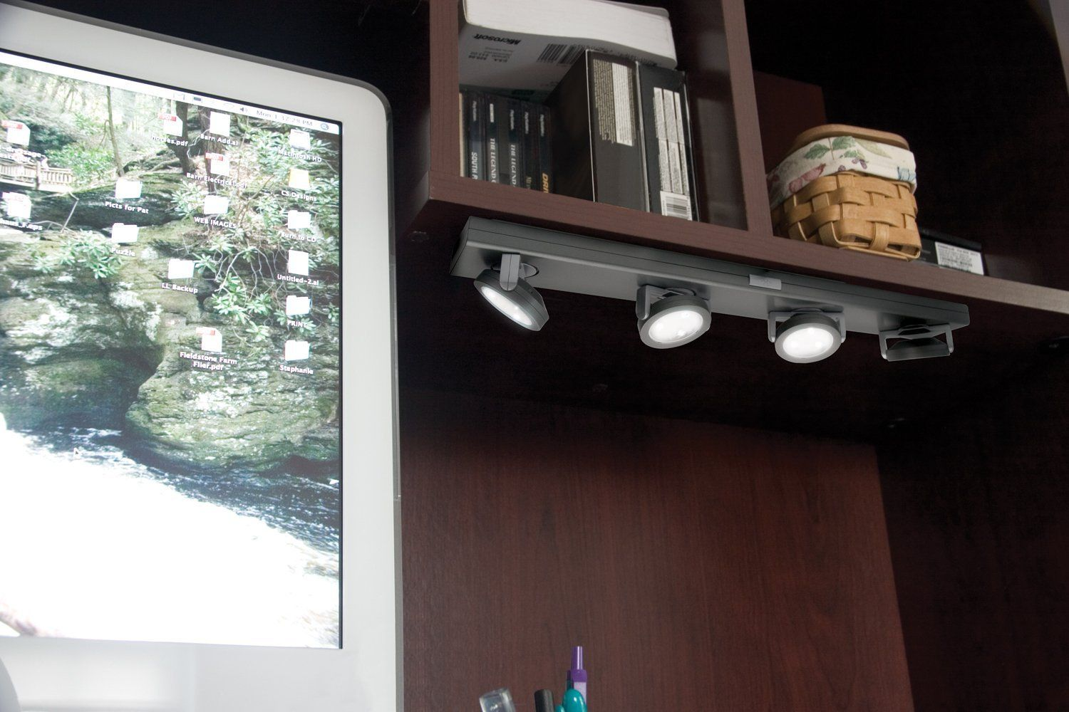Undercabinet Lighting Without Wiring Home Bar
