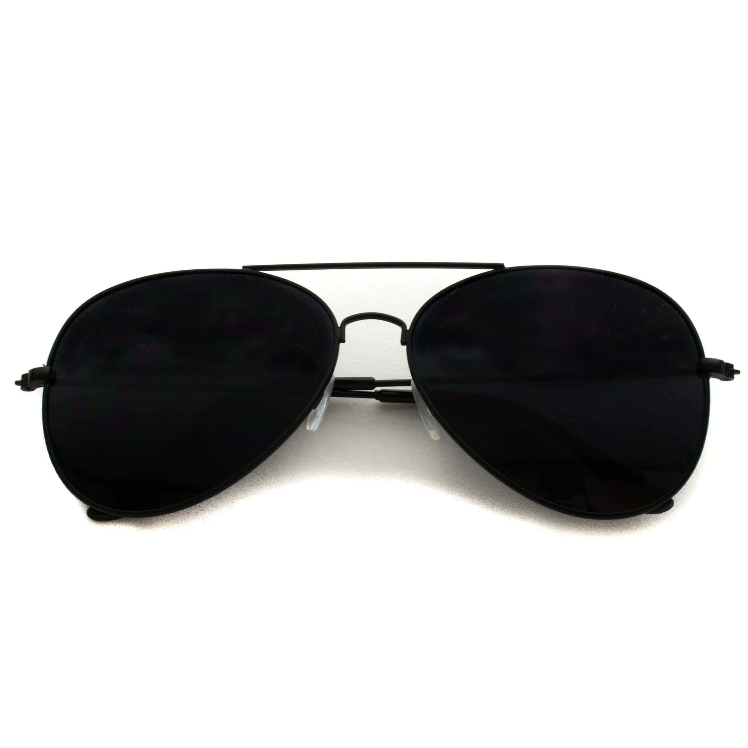 964f3fab2b Stylish Maxwell Full Black Aviator Sunglasses - Affordable Black Aviators  These black aviators are a true classic. When a design is this neat and  timeless