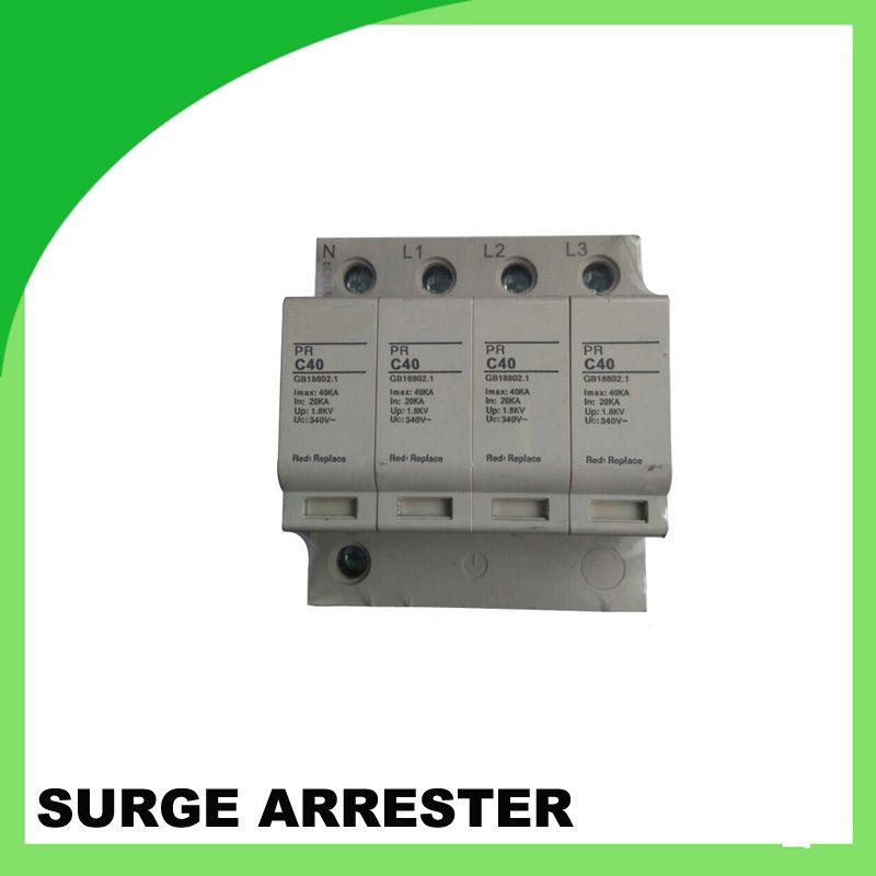 Pr C40 340v 40ka 4pole Surge Protection Psd Power Surge Protector Power Surge Protector