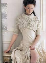 Resultado de imagem para bolero em tricot