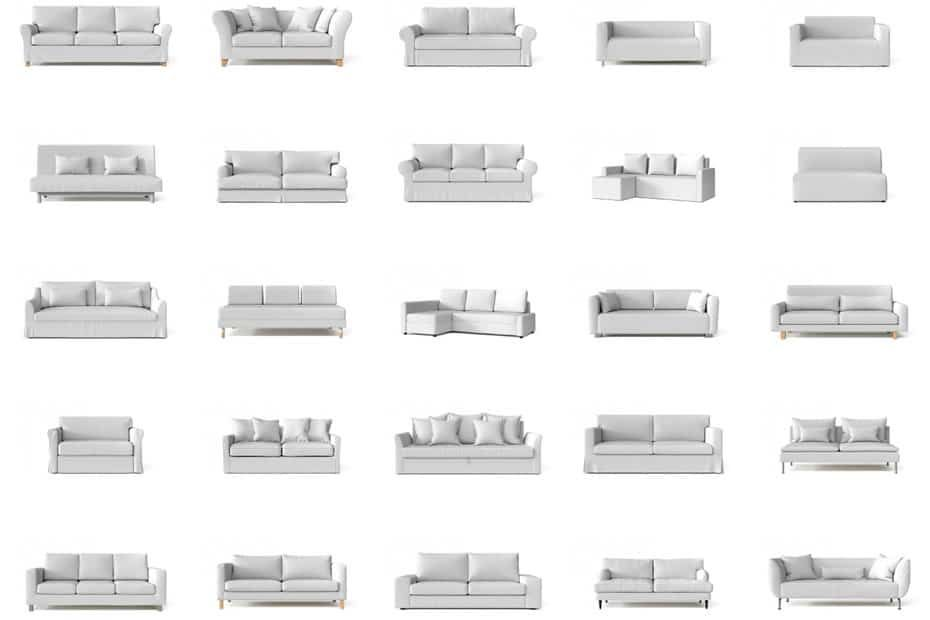 21 Different Types Of Sofas And Slipcoverability What S Mine In 2020 With Images Types Of Sofas