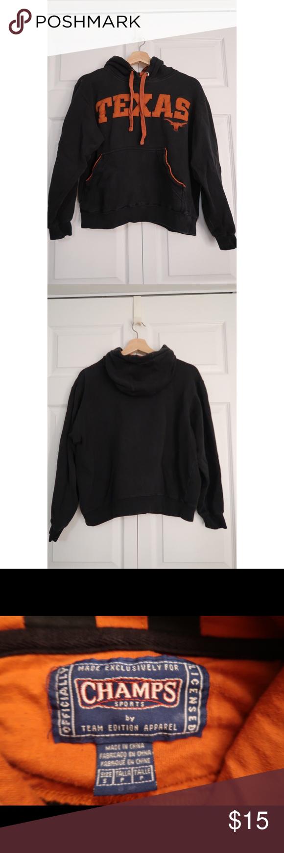 Champs Texas Longhorn Collegiate Sweatshirt Sweatshirts Champion Tops Clothes Design [ 1740 x 580 Pixel ]
