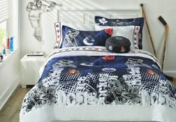 Nhl Bedding Collection Breakaway Comforter Set From Sears