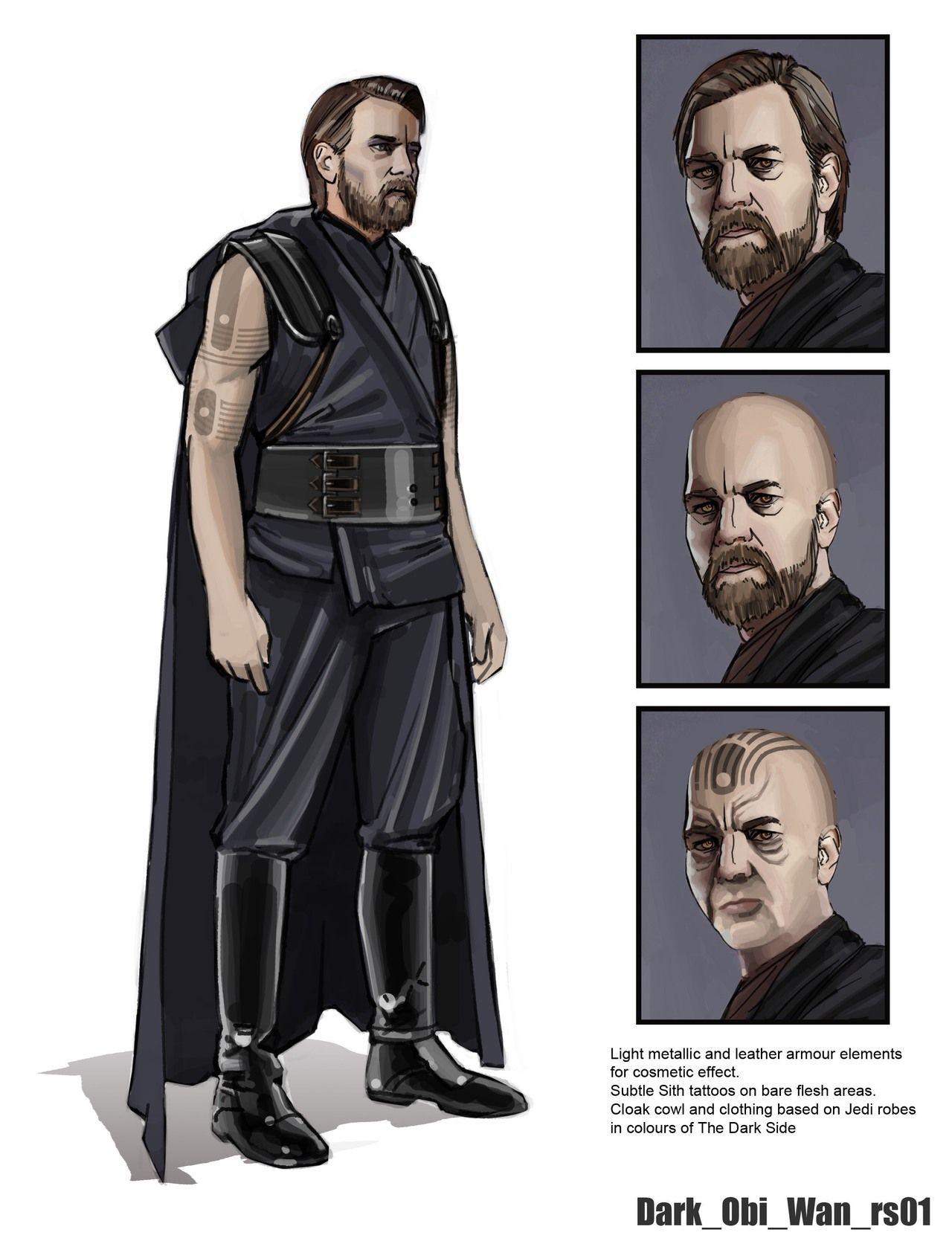 Alleged Star Wars Battlefront 4 Concept Art Includes Dark Side Obi ...