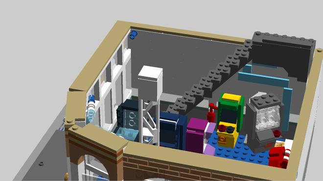 LEGO Ideas - Flynn's Arcade