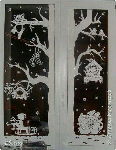 Fensterbild - #fensterbild #weihnachtsdekoweihnachten