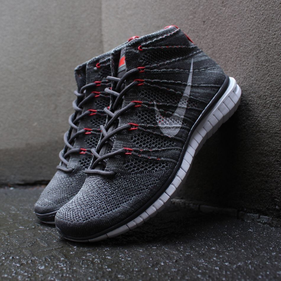 Nike Free Flyknit Chukka Dark Grey - sneaker news c827fd18e