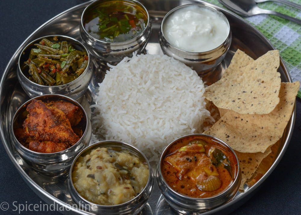 Lunch Dinner Menu 2 South Indian Non Vegetarian Lunch Menu