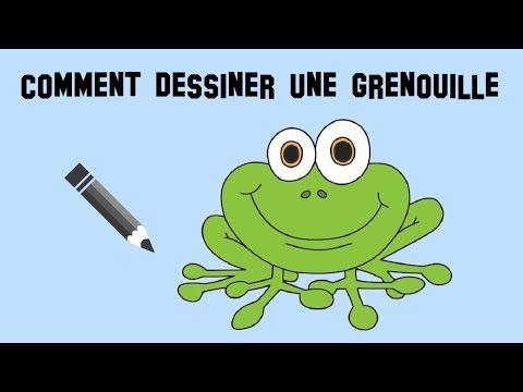Comment dessiner une grenouille facilement youtube - Dessiner une grenouille ...
