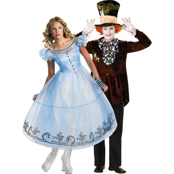 Deluxe Alice in Wonderland Couples Costumes Cosplay Pinterest