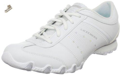Skechers Sport Women's Drive-in Lace-up Sneaker White8 M US