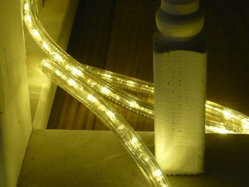 10ft Rope Lights 3wires Warm White Chasing Led Rope Light Kit Christmas Lighting Outdoor Rope Lighting By Di Led Rope Lights Outdoor Rope Lights Rope Lights