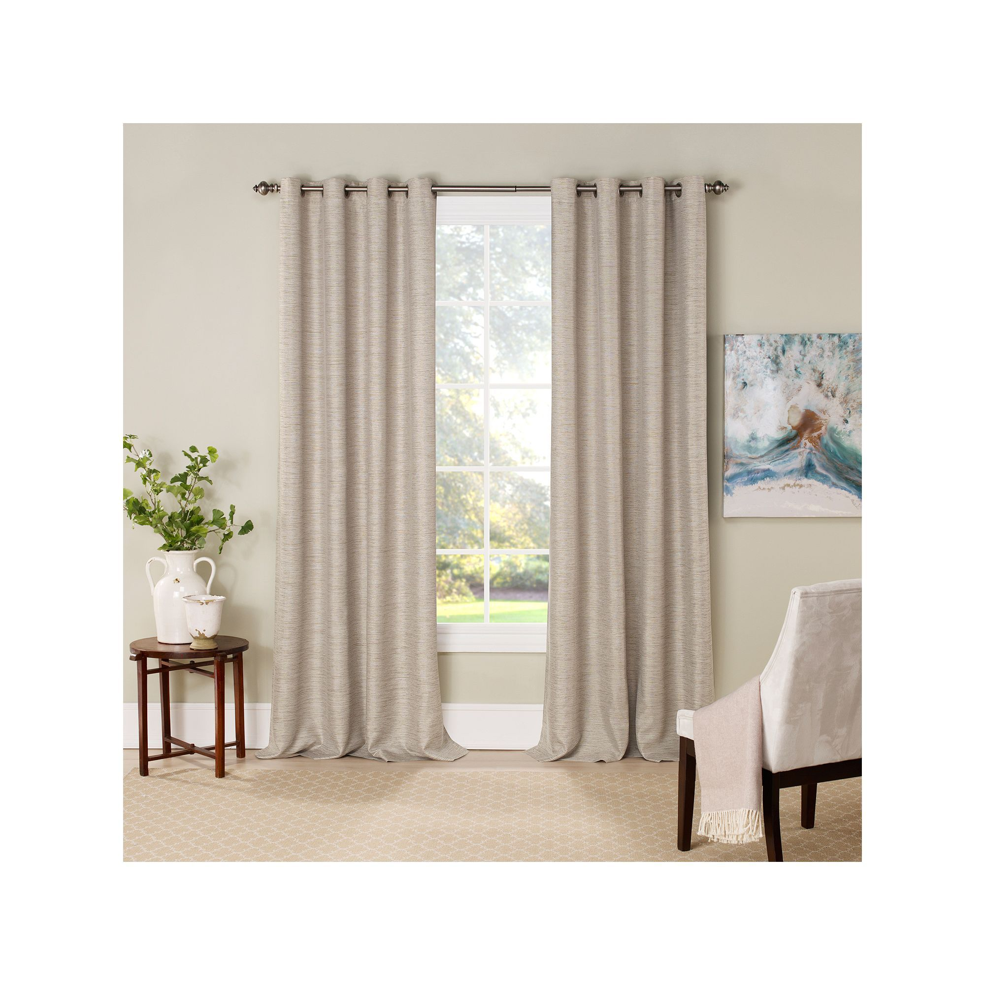 eclipse Newport Thermalayer Blackout Curtain, Green