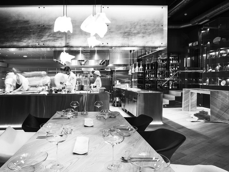 Restaurant Kitchen View finnjävel restaurant designedateljé sotamaa. view over the
