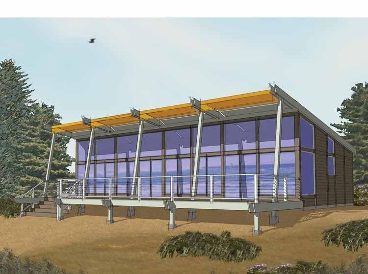 Eplans Contemporary-Modern House Plan - Contemporary Casual - 1152