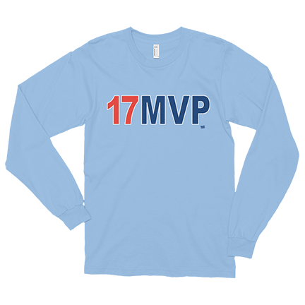 premium selection c556f a56a9 MVP - 17 - Kris Bryant - Long Sleeve | Products | Long ...