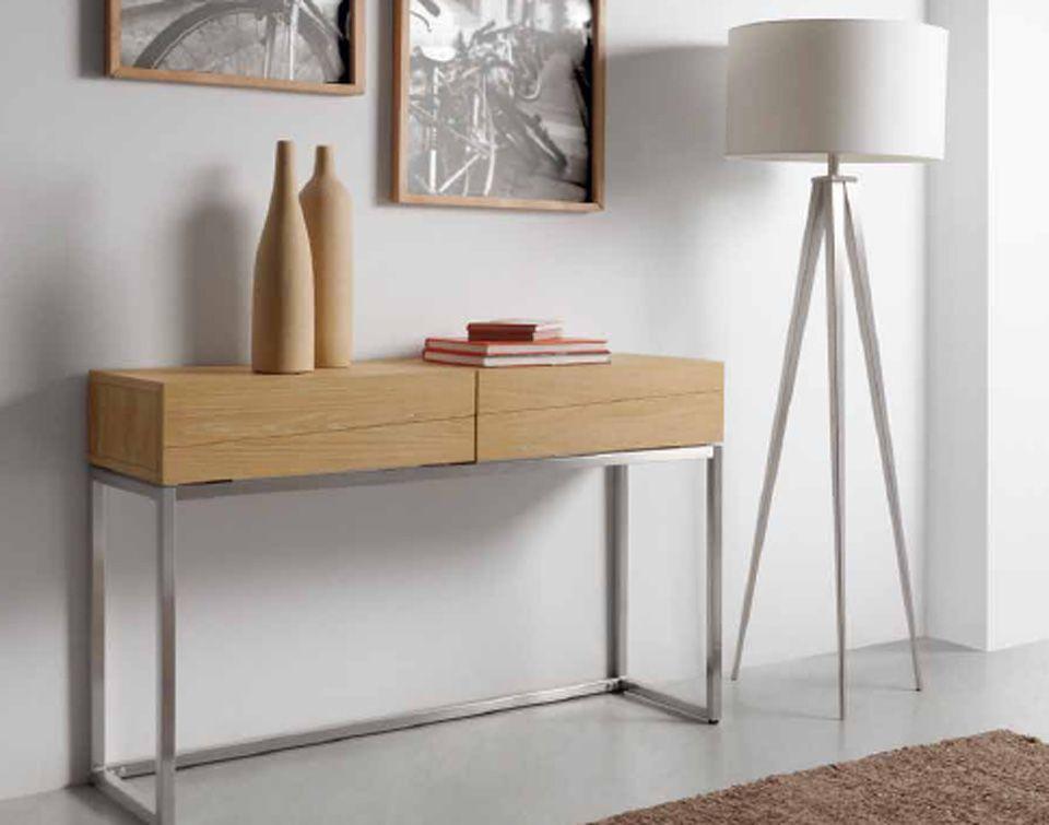 Patas Metalicas Para Muebles : Mueble auxiliar de madera roble y patas metálicas for