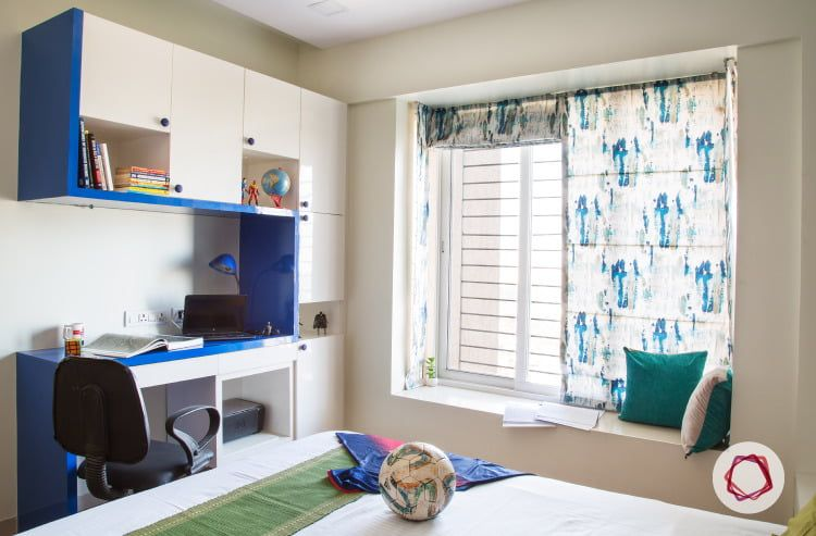 Mumbai Interior Design With A Mix Of Themes Kids Bedroom