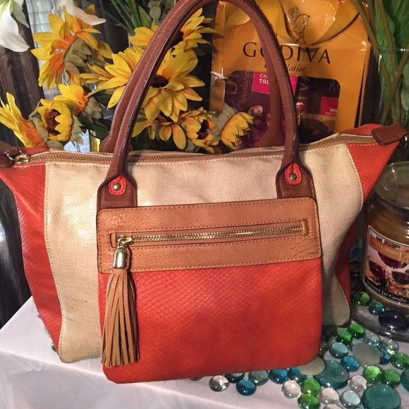 "Selling this ""Relic Leather Bag"" in my Poshmark closet! My username is: spicebeige22. #shopmycloset #poshmark #fashion #shopping #style #forsale #Relic #Handbags"