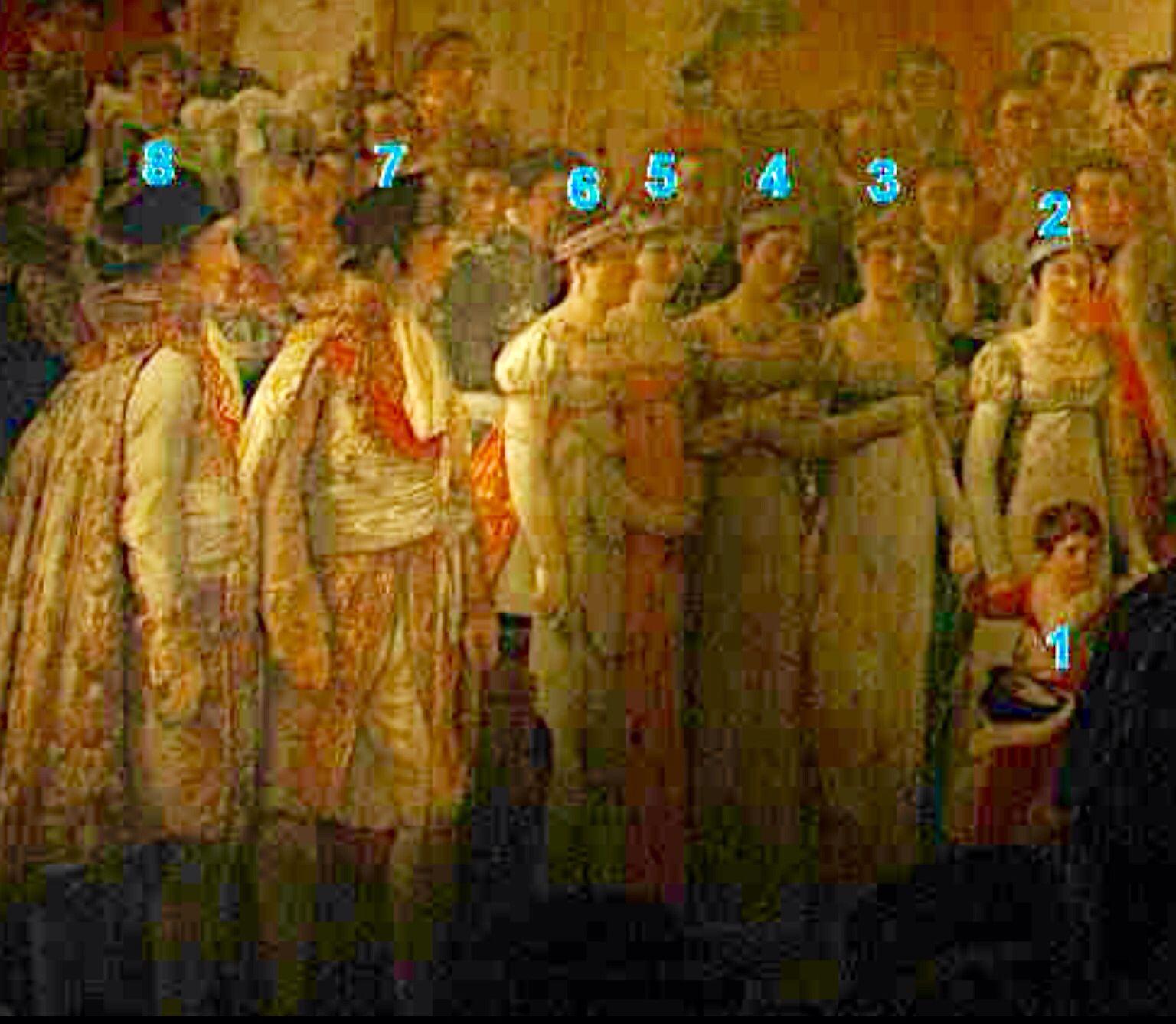La Familia De Napoleon En La Pintura De Luis David 1 Napoleon  # Muebles Luis Nipoti