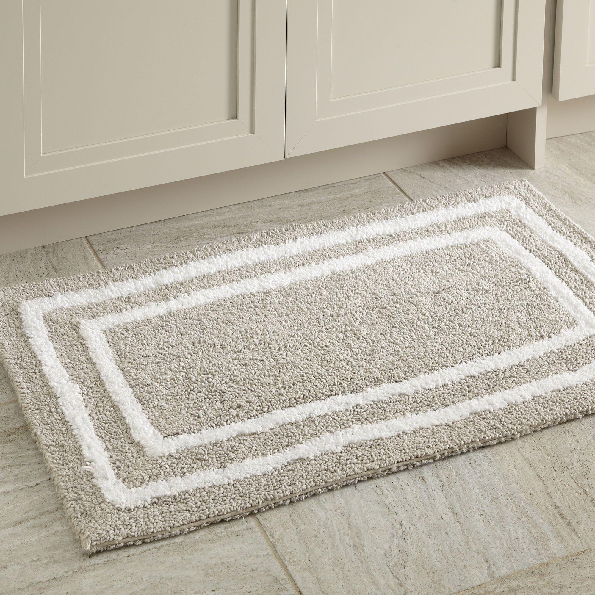 Grey Bathroom Rugs Ideas | Long bathroom Rugs Ideas | Pinterest
