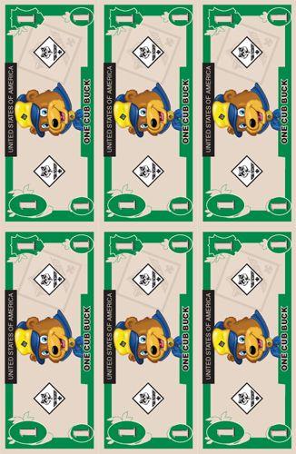 Dinero scout (para algún juego)