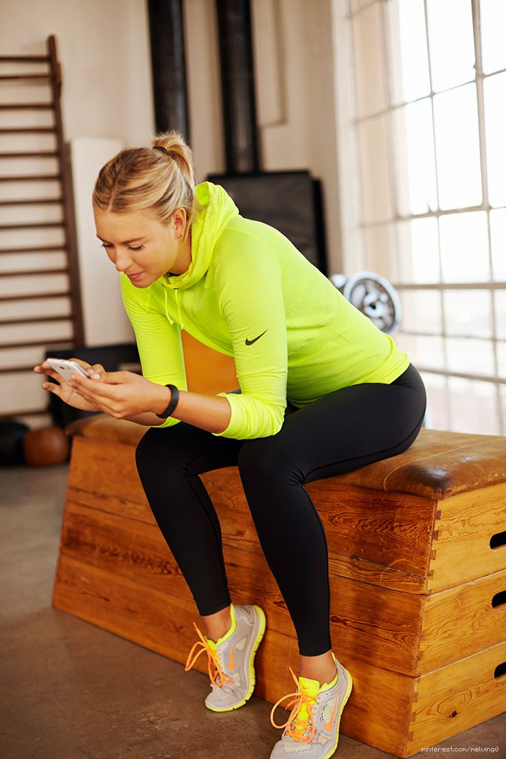 Maria Sharapova Www Smartypantsvitamins Com Cute Workout Outfits Fitness Fashion Workout Clothes [ 1106 x 737 Pixel ]