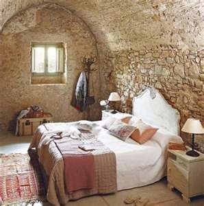 Absolute Charm in this Unusual Bedroom