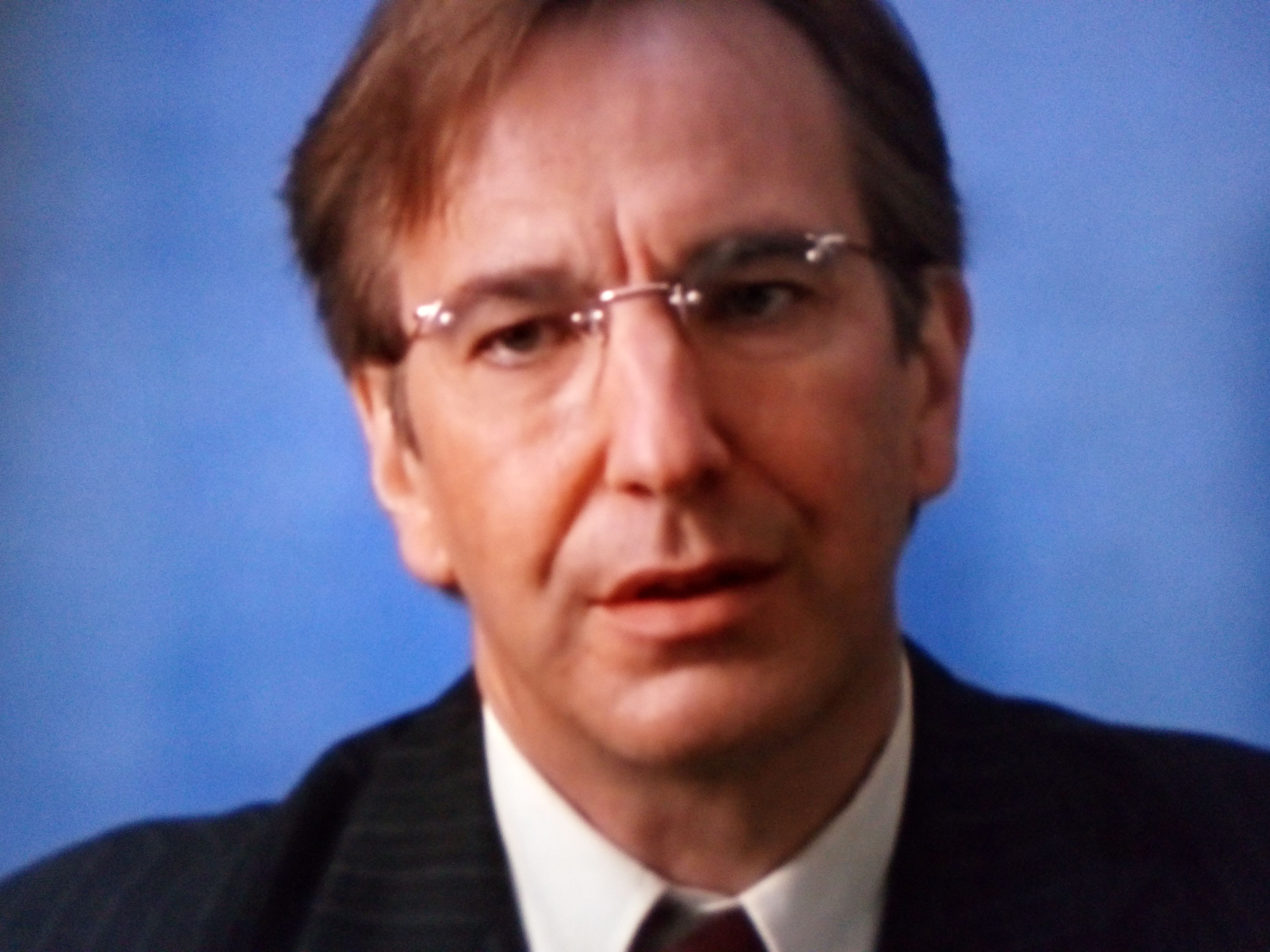 Alan Rickman - Eamon de Valera (Michael Collins) | Alan | Pinterest
