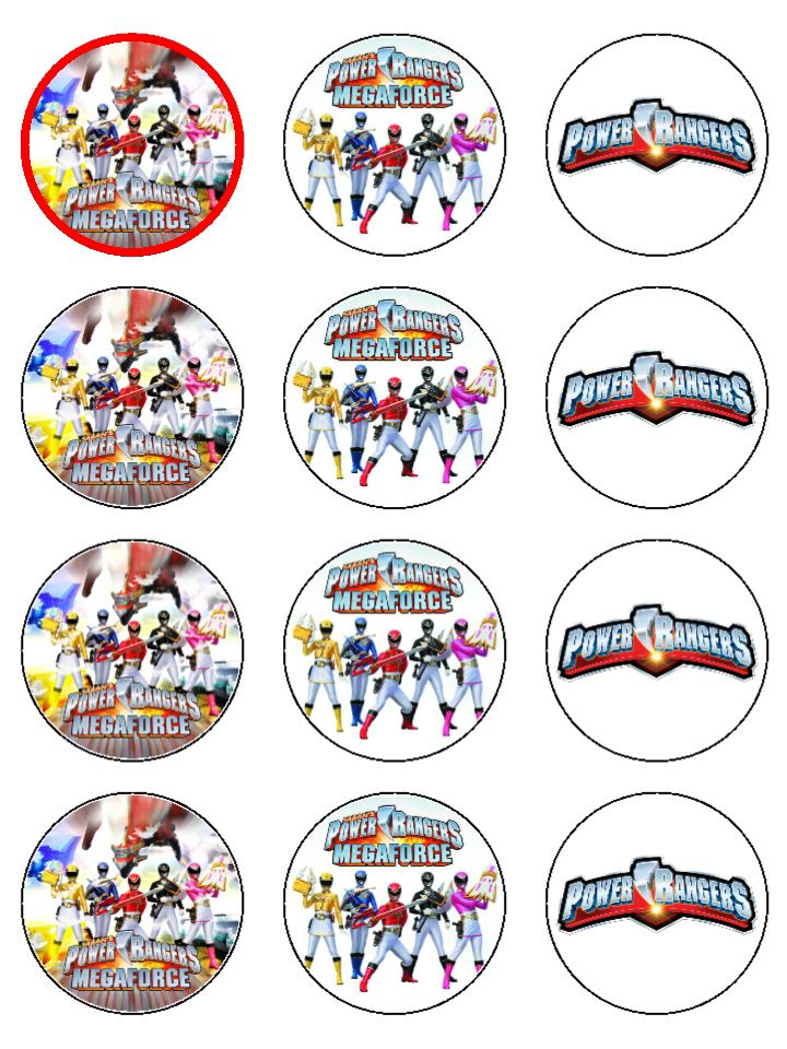 Pin By Crafty Annabelle On Power Rangers Printables