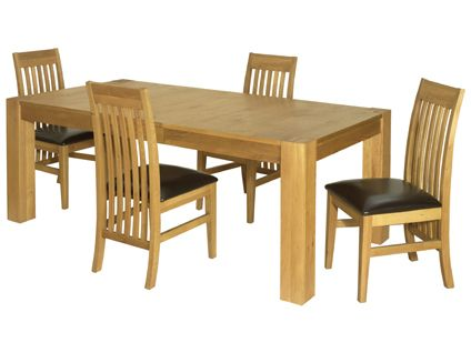 Strata Extending Dining Table And 4 Chairs