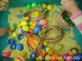 An idea on Tuesday: Paper Bag Nests