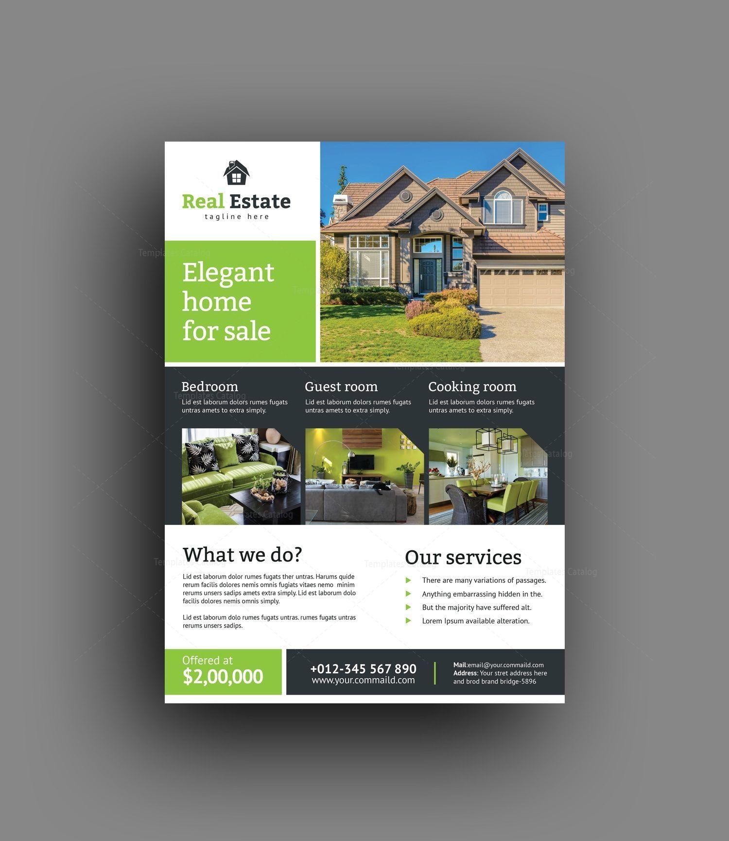 Super Real Estate Flyer Design Template Real Estate Flyers Flyer Design Templates Design Template Real estate flyer template psd