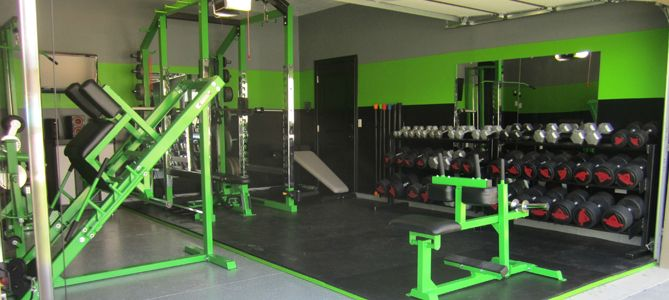 The best home gyms lime green home garage gym home home gym
