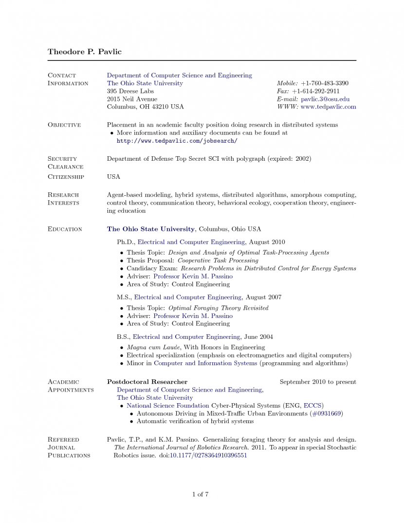 Cover Letter Template Overleaf Ten Things About Cover