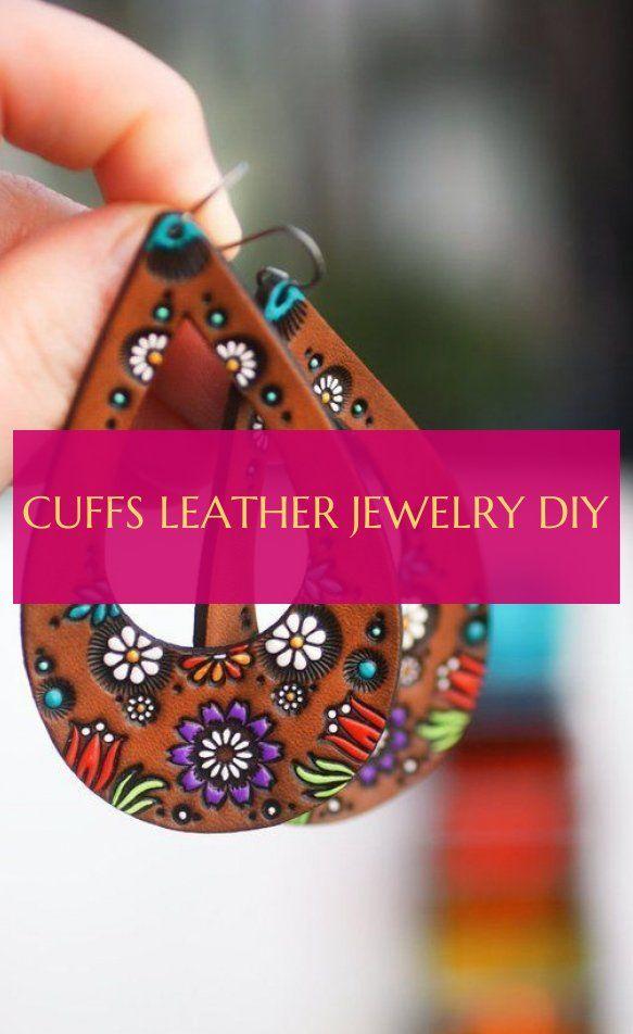 Cuffs Leather jewelry diy