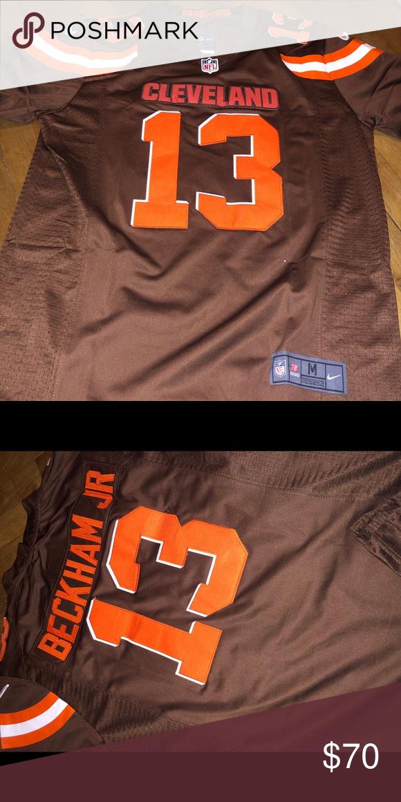online retailer b42d5 1a10c 🔥🔥NWT Cleveland Browns Odell Beckham Jr Jersey🔥 On field ...