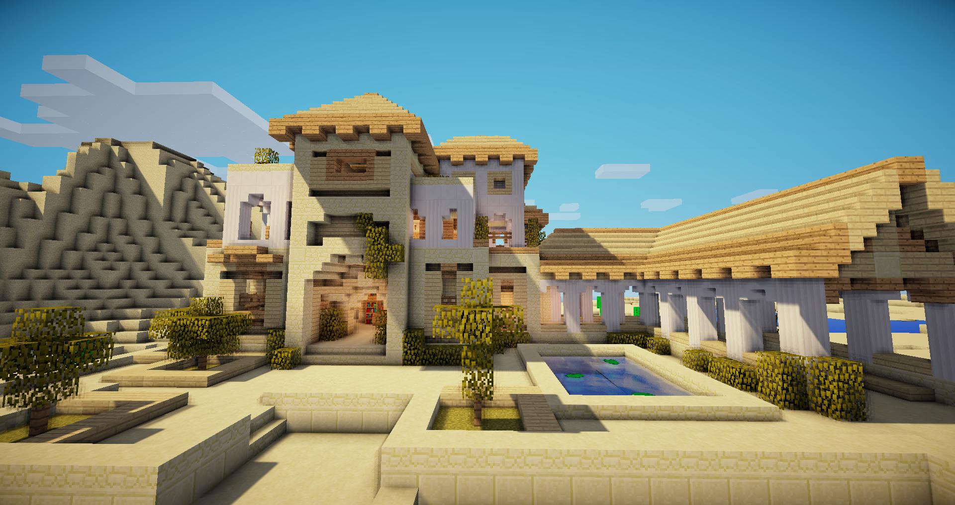Desert house 1 deserts house and minecraft ideas for Desert home designs