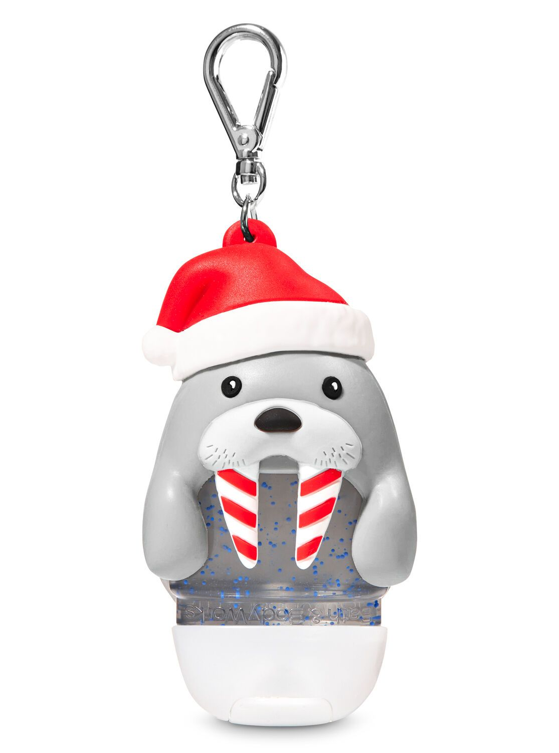 Santa Walrus Pocketbac Holder Hand Sanitizer Holder Bath And