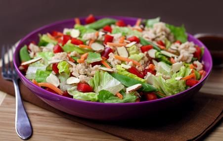 Asian style albacore picnic salad