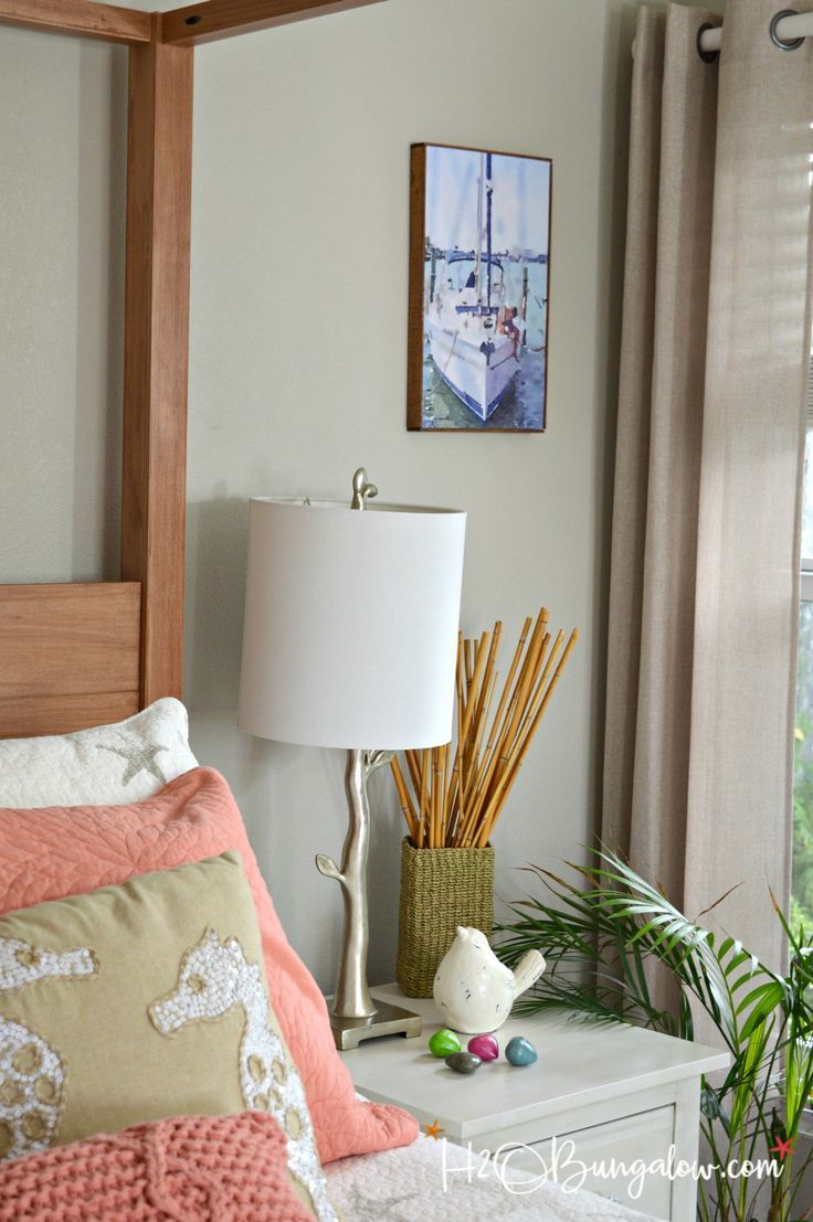 Turn Your Photo Into A DIY Faux Canvas Print   Diy home ...