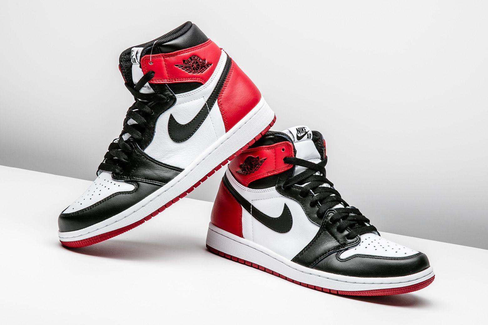 """6d85b45776b Rate the Air Jordan 1 """"Black Toe"""" from 1 - 10."""