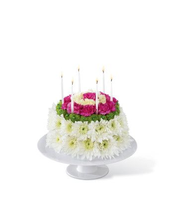 The FTDR Wonderful WishesTM Floral Cake Is Set To Celebrate Their Birthday With Sweet