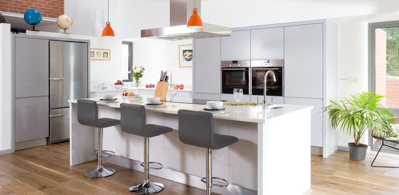 Greenhill Contemporary Kitchen Contemporary kitchen, Uk
