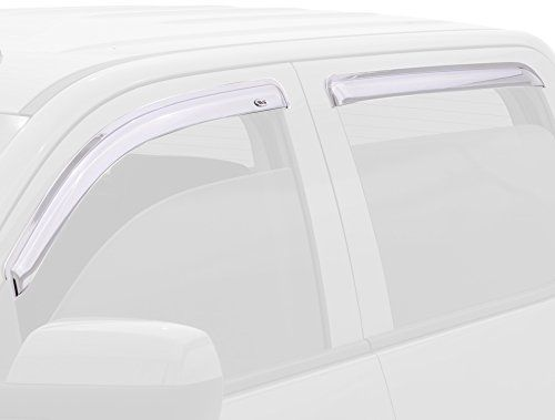 Auto Ventshade' Chrome Ventvisor is precision-engineered for an exact fit to your vehicle. With a customized design this side window...
