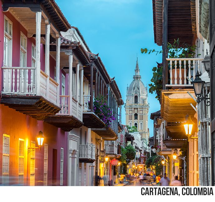 Destination Of The Week Cartagena Colombia Cartagena Walkable City Colombia