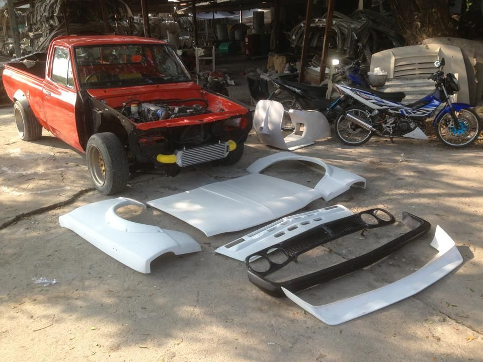 Frp Kits For Datsun 620 Hakotora Settings Atsushiay Gmail Com Datsun Pickup Datsun Mini Trucks